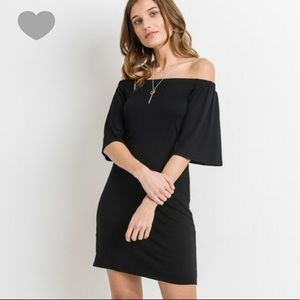 Double layer off shoulder dress (COMING)